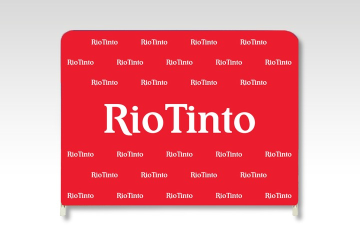 Rio Tinto Media Wall