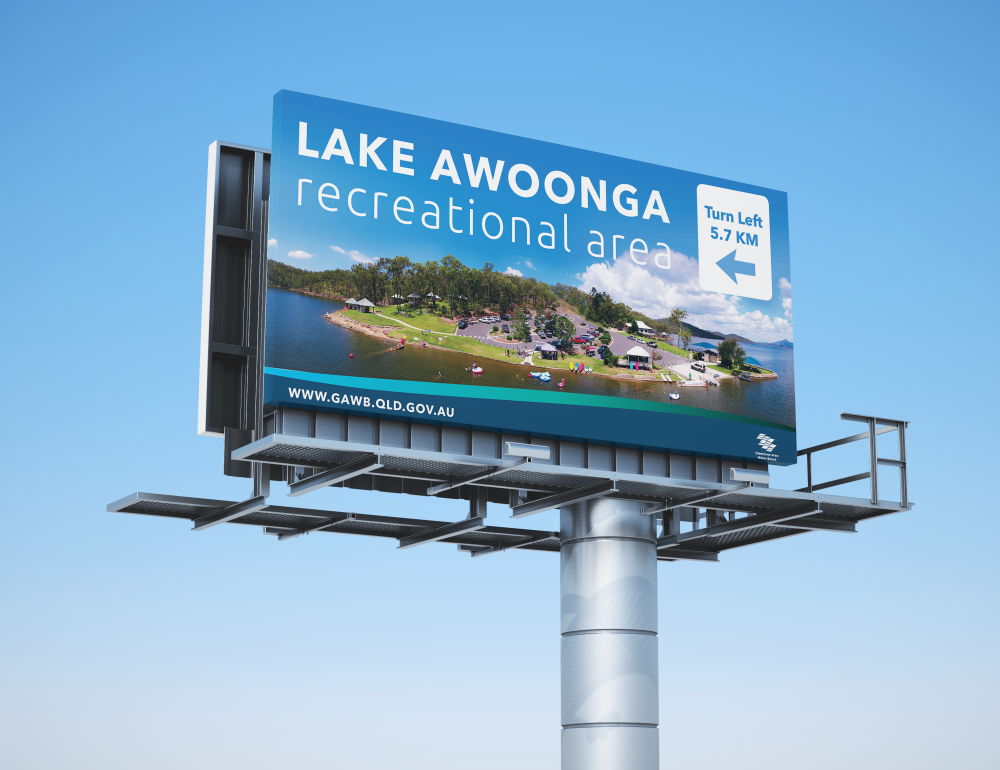 Lake Awoonga Billboard