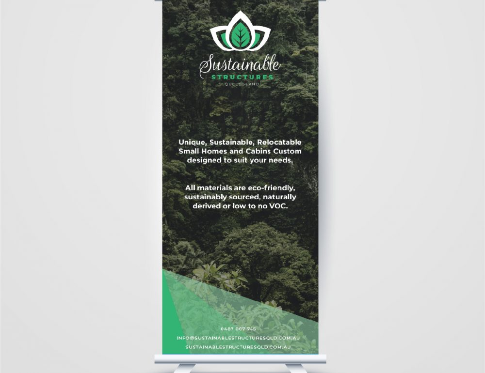 Sustainable Structures Pullup Banner