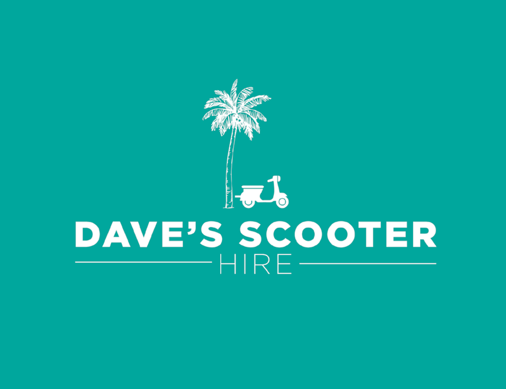 Daves Scooter Hire logo