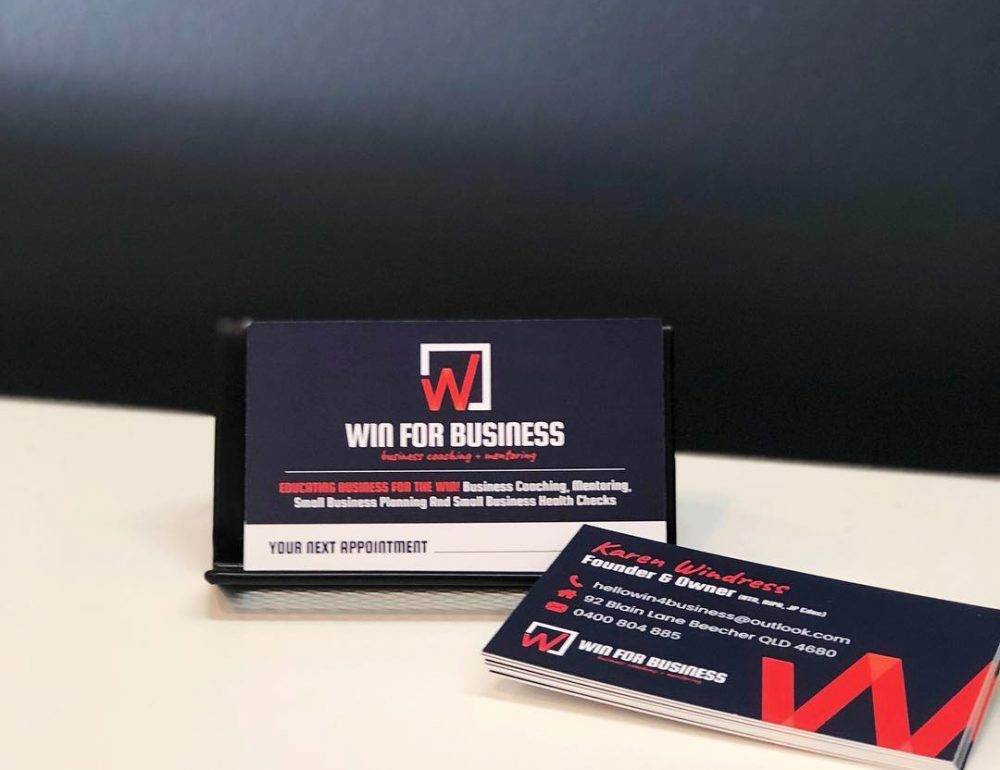 Win business cards